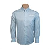 Red House Lt Blue Long Sleeve Shirt-Arched Texas A&M Corpus Christi
