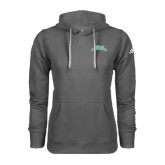 Adidas Climawarm Charcoal Team Issue Hoodie-Arched Texas A&M Corpus Christi
