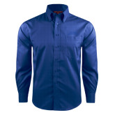 Red House French Blue Long Sleeve Shirt-Arched Texas A&M Corpus Christi