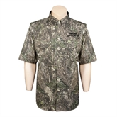 Camo Short Sleeve Performance Fishing Shirt-Arched Texas A&M Corpus Christi