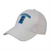 White Heavyweight Twill Pro Style Hat-Islanders w/I
