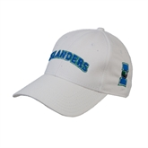 White Heavyweight Twill Pro Style Hat-Arched Islanders