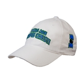 White Heavyweight Twill Pro Style Hat-Arched Texas A&M Corpus Christi