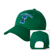 Kelly Green Heavyweight Twill Pro Style Hat-Islanders w/I