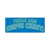 Small Magnet-Arched Texas A&M Corpus Christi, 6 in W