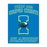 Medium Magnet-Texas A&M Corpus Christi Islanders, 8 in H