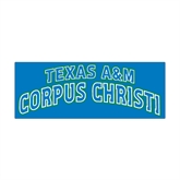 Medium Magnet-Arched Texas A&M Corpus Christi, 8 in W