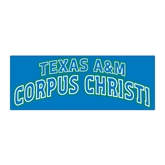 Large Magnet-Arched Texas A&M Corpus Christi, 12 in W