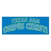 Extra Large Magnet-Arched Texas A&M Corpus Christi, 18 in W