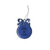 Royal Bulb Ornament-Texas A&M Corpus Christi Islanders Engraved