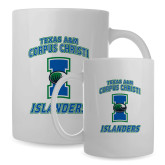 Full Color White Mug 15oz-Texas A&M Corpus Christi Islanders