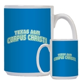 Full Color White Mug 15oz-Arched Texas A&M Corpus Christi