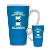 Full Color Latte Mug 17oz-Texas A&M Corpus Christi Islanders