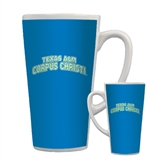 Full Color Latte Mug 17oz-Arched Texas A&M Corpus Christi