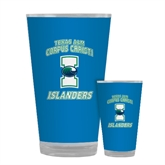 Full Color Glass 17oz-Texas A&M Corpus Christi Islanders