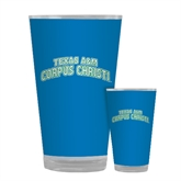 Full Color Glass 17oz-Arched Texas A&M Corpus Christi