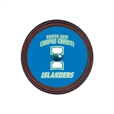 Round Coaster Frame w/Insert-Texas A&M Corpus Christi Islanders