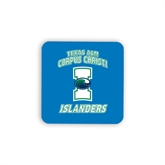 Hardboard Coaster w/Cork Backing-Texas A&M Corpus Christi Islanders