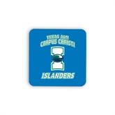 Hardboard Coaster w/Cork Backing-Texas A&M Corpus Christi Islanders