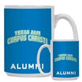 Alumni Full Color White Mug 15oz-Arched Texas A&M Corpus Christi