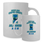 Mom Full Color White Mug 15oz-Texas A&M Corpus Christi Islanders