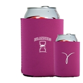 Collapsible Hot Pink Can Holder-Kay Yow Breast Cancer Fund Ribbon