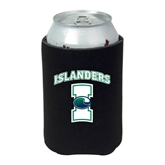 Neoprene Black Can Holder-Islanders w/I
