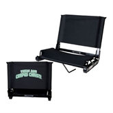 Stadium Chair Black-Arched Texas A&M Corpus Christi