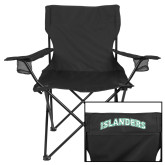 Deluxe Black Captains Chair-Arched Islanders
