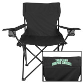 Deluxe Black Captains Chair-Arched Texas A&M Corpus Christi