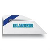 Angled Blue Stripe Letter Opener-Islanders