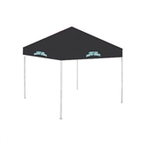 9 ft x 9 ft Black Tent-Arched Texas A&M Corpus Christi