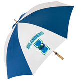 62 Inch Royal/White Umbrella-Islanders w/I