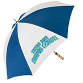 62 Inch Royal/White Umbrella-Arched Texas A&M Corpus Christi