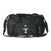 High Sierra Black Switch Blade Duffel-Islanders w/I