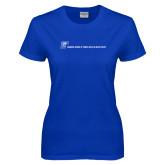Ladies Royal T Shirt-CUNY SPH Flat