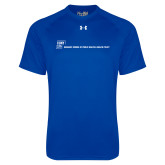 Under Armour Royal Tech Tee-CUNY SPH Flat