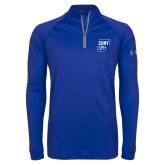 Under Armour Royal Tech 1/4 Zip Performance Shirt-CUNY SPH Square