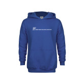 Youth Royal Fleece Hoodie-CUNY SPH Flat