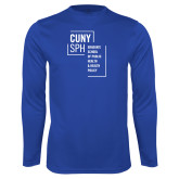 Performance Royal Longsleeve Shirt-CUNY SPH