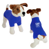 Classic Royal Dog T Shirt-CUNY SPH Square