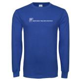 Royal Long Sleeve T Shirt-CUNY SPH Flat