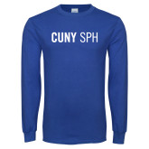 Royal Long Sleeve T Shirt-CUNY SPH