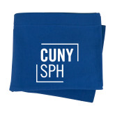 Royal Sweatshirt Blanket-CUNY SPH Square