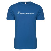 Next Level SoftStyle Royal T Shirt-CUNY SPH Flat