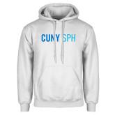 White Fleece Hoodie-CUNY SPH