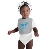 Grey Baby Bib-CUNY SPH Square