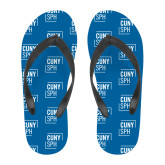 Full Color Flip Flops-CUNY SPH Square