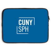 15 inch Neoprene Laptop Sleeve-CUNY SPH Square