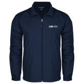 Full Zip Navy Wind Jacket-CUNY SPH